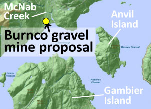 March 22 - Burnco gravel mine receives provincial approval
