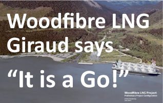 Not so fast Woodfibre LNG and Premier Clark