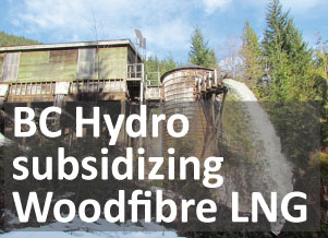 How is Woodfibre LNG staying afloat?