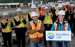 Woodfibre LNG lobbyist make illegal political donations