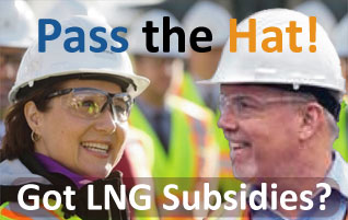 Woodfibre LNG donations to BC NDP pay off!